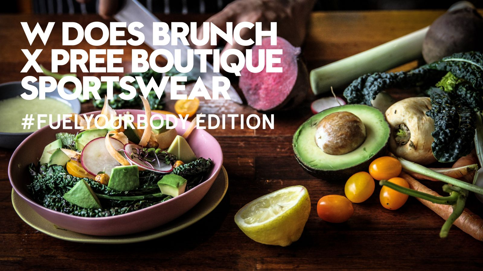 W DOES BRUNCH X PREE BOUTIQUE SPORTSWEAR